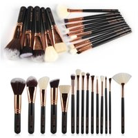 2 Colors 15pcs set Professional Makeup Brushes Tools Make Up...