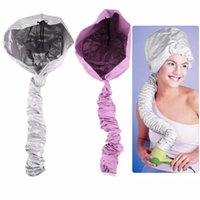 Comfortable Home Portable Salon Hair Dryer Soft Hood Bonnet Cap Attachment Haircare Large Bouffant Lightweight Styling Tool