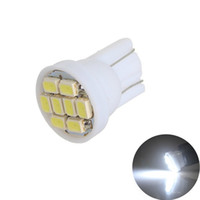 1206/3020 smd T10 8smd 8 led 194 168 192 W5W Super Brillante Auto led Iluminación de Coche Cuña Base T10 Bombilla Led