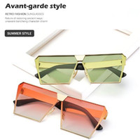 11 Colors Oversized Women Sunglasses Unique Brand Designer S...