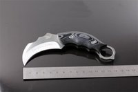 Promotion Scorpion Claw knife Karambit AUS- 8A 59HRC Blade Su...