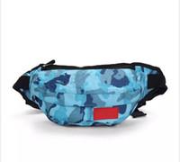 Livre novo design sacos de cintura Bolsa Homens Mulheres desinger Waistpacks sacos de desporto ao ar livre Packs Ciclismo Bolsa Totes clássico Zipper sacos 6 estilos