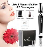 Новое поступление!!! Доктор Pen Derma Pen Auto Stamp Ultima A7 Microneedle картридж для ухода за кожей Красота Anti Aging Акне макияж MTS PMU