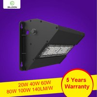 LED Outdoor Wall Pack 60W 40W 20W AC100- 277V 120LM W 3030SMD...