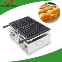 Ticari Yeni Japon Yumurta Waffle Makinesi Popüler Kabarcık Waffle Makinesi Elektrikli Waffle Kek Pan NP1000 Snack Makinesi