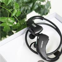 Dacom ARMOR IPX5 방수 스포츠 무선 블루투스 이어폰 헤드폰 스테레오 헤드셋 넥 밴드 핸즈프리 전화 전자 제품