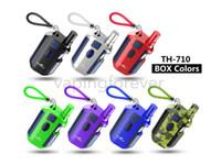 Kangvape TH-710 Caixa de Pré-aqueça Kit 650 mAh TH710 com 0.5 ml 510 K3 CartuchoTH710 Caixa de Bateria de Tensão Variável Mod para a Série Liberty Autêntico