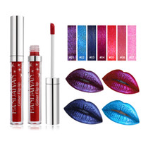 Droshipping NEW 7 Color HANDAIYAN glitter flip lip non- stick...