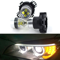 2pcs CANbus PY24W 100w LED Bulbs Front Tail Turn Signal Whit...