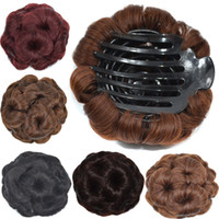 Sara Bun Donut Chignon With Plactic Comb For Lady Women Synt...