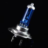 H7 12V 100W lampada di vetro blu lampada alogena H7 Lampadine blu auto lampada auto lampadina di ricambio