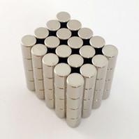 100 قطع xicimag جودة عالية جولة المغناطيس 4x5 ملليمتر N52 نادر الأرض المغناطيس النيوديميوم قوي دائم السائبة ندفيب المغناطيس نيكل المغلفة