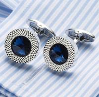 Gemelos de cristal de calidad superior abogado novio boda gemelos camisa puños para Camisas Gemelos envío de la gota