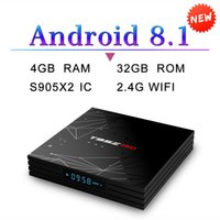 T95Z PRO Android 8. 1 tv Box S905X2 Quad Core 4GB 32GB 2. 4G W...