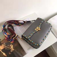 2018 New Fashion Handbag Shoulder Bag Lady Bag Color Stone R...