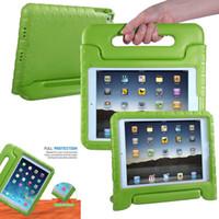 Cassa del supporto della maniglia del peso di schiuma leggera EVA antiurto sicuro per bambini Nuovo per iPad 9.7 2017 2018 Air 2 3 4 5 6 7 Air2 Pro Mini Air2 Mini4
