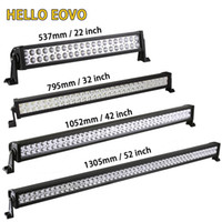 HELLO EOVO 22 32 42 52 zoll LED Lichtleiste LED Bar Arbeitslicht für Offroad Auto Traktor Lkw 4x4 SUV ATV 12 V 24 V