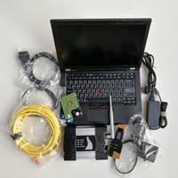 Kod Tarayıcı Otomatik Tanı Aracı Kullanılan Dizüstü Bilgisayar T410 I5 veya I7 4G BMW WiFi ICOM Için Için A2 1TB HDD V06.2021