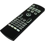 안 드 로이드 미니 PC TV 상자에 대 한 2.4 G 원격 제어 MX3 무선 마우스 무선 키보드 백라이트