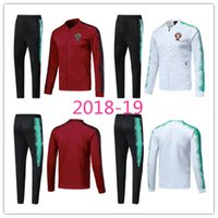 bb02061aca4b2 2018 Campeón de la Copa del Mundo Ronaldo Football Jacket Sportswear 18-19  Pantalón de