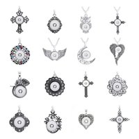 Noosa Fashion 16 Styles Owl Cross Heart charms DIY 18mm Snap...