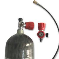 Acecare 6.8 L CE высокое давление 4500Psi 300Bar PCP углеродного волокна цилиндр для дайвинга акваланг газовый баллон сжатого воздуха пистолет клапан заправочной станции