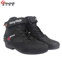 Motorcycle boots men bota Motorbike Motocross Automobile Boo...