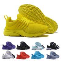 release date: b016c 3ea4c Diseñador 2018 Hombres Presto 5 Zapatillas de deporte Sport BR QS Blanco  Negro Amarillo Rosa Aire respirable Zapatos deportivos Hombres Entrenadores  ...