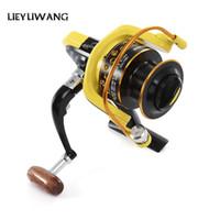 LIEYUWANG Full Metal Fishing Reel 5.1: 1 12BB HD1000 -7000 Carrete giratorio Carpa Molinete De Pesca Roda Rueda giratoria Pesca Carrete VB