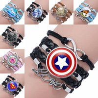Infinity Love Bracelet Game of Throne Superheroes Unicorn Wo...