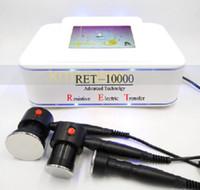 Máquina de diaterapia RF RET fraccional portátil cara piel rejuvenecimiento de la piel pecas removedor equipo de belleza
