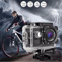 Großhandel Action Kamera Full HD 1080P Digital Sport DVing Photo Cam Unterwasser wasserdichte Kameras 30M Camcord 2,0 Zoll Mini Video Cam