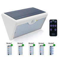 Edison2011 60 LED Solar Security Lights 1300LM 5 Modes With ...