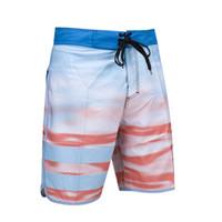 bc8a64384d774 Men Swimwear Boardshorts Board Shorts Surf Quick Dry Summer Fashion Bermuda  Beach Swim Short Pants Elastic