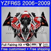 Body For YAMAHA Santander rojo nuevo YZF R6 S R 6S YZF600 YZFR6S 06 07 08 09 231HM.21 YZF-600 YZF R6S YZF-R6S 2006 2007 2008 2009 Fairings Kit
