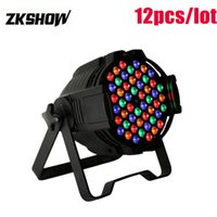 Luces Fiest 54*1W 3W RGBW LED Par Light Wash 180W Indoor DMX...