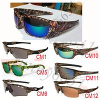 10pcs newest SUMMER MEN sports Camouflage SUNglasses Camoufl...