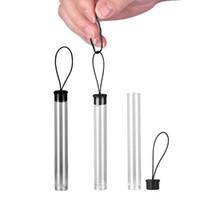 Nuevo diseño PP Tubo Vaporizador Pluma Cartuchos de Vape Tubos de embalaje de plástico transparente para el tanque de cartucho de aceite grueso CE3