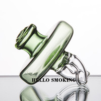 Dual directional airflow glass carb cap for Quartz banger Na...