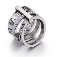 Горячая распродажа Trend мода пары кольца из титана из нержавеющей стали валентинка высококачественные комбинезоны дешевые оптовые кольца циркония
