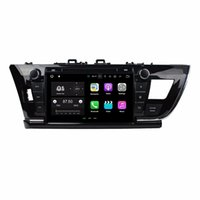 "2 GB RAM Quad Core 9 ""Android 7.1 Toyota Corolla için Araba DVD Oynatıcı Araba Radyo Sol 2014 2015 GPS Radyo Bluetooth WIFI Ile 16 GB ROM USB DVR"