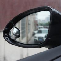 2018 유니버설 자동차 미러 와이드 앵글 라운드 볼록 블라인드 스팟 미러 주차 후면보기 거울 비 그늘 자동 액세서리