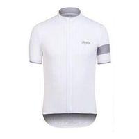 2021 Verão Rapha Team Mens Ciclismo Jersey Respirável Manga Curta Bike Camisas De Rua Racing Tops Bicicleta Outfits Outdoor Sportswear S21041206
