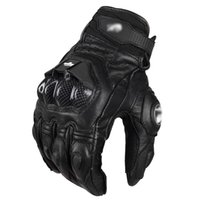 Motorcycle Gloves Leather Racing Glove ride bike driving bic...