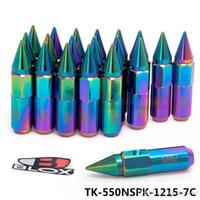 Tansky - 20 pc Blox JDM Estilo Alumínio Estendido Do Sintonizador Do Sintonizador Porcas com Spike para Rodas RIMS M12X1.5 TK-550NSPK-1215