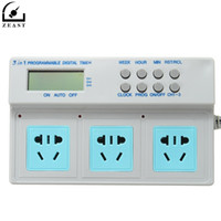 New Digital Timer Socket AU Plug Microcomputer Control 3in1 Programmable High Power