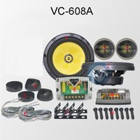 VC- 608A Top- Grade Automotive Component Speakers Passive 130W...