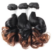 Ombre Peruvian Spring Curl Virgin Hair 4Bundles Unprocessed ...
