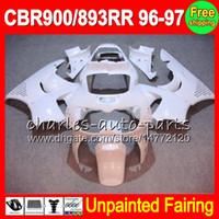 8Gifts Unpainted Full Fairing Kit voor HONDA CBR900RR CBR893RR 96-97 CBR 893 893RR CBR893 RR 900RR 96 97 1996 1997 Hoogwerkelijke Carrosserie Body Kit