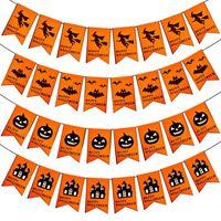 Vliesstoff Brief Hängen Flaggen Banner Wimpel Ammer Ornamente DIY KTV Bar Party Dekoration Halloween Liefert freies verschiffen heißer